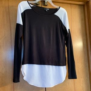 Faux Layered ColorBlock Top